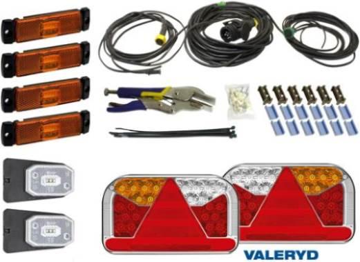 En savoir plus sur Système électrique et éclairage de la remorque